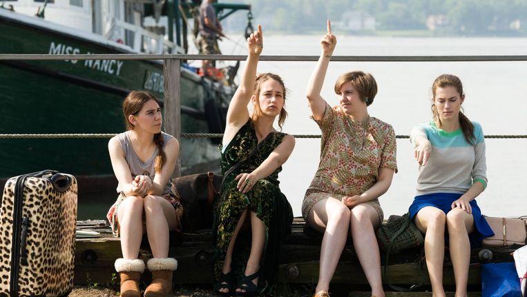 De meisjes van 'Girls' kampen met heel wat neuroses en persoonlijke 'stoornissen'. Beeld photo_news