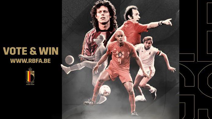 De Michel Preud'homme à Vincent Kompany: 127 joueurs qui ont marqué l'histoire figurent dans la présélection de l'Union Belge. Aux supporters, désormais de choisir qui seront les 11 heureux élus.