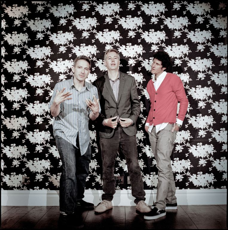 Beastie Boys in 2011: Adam Horovitz, Adam Yauch en Michael Diamond.  Beeld Rick Pushinsky /eyevine