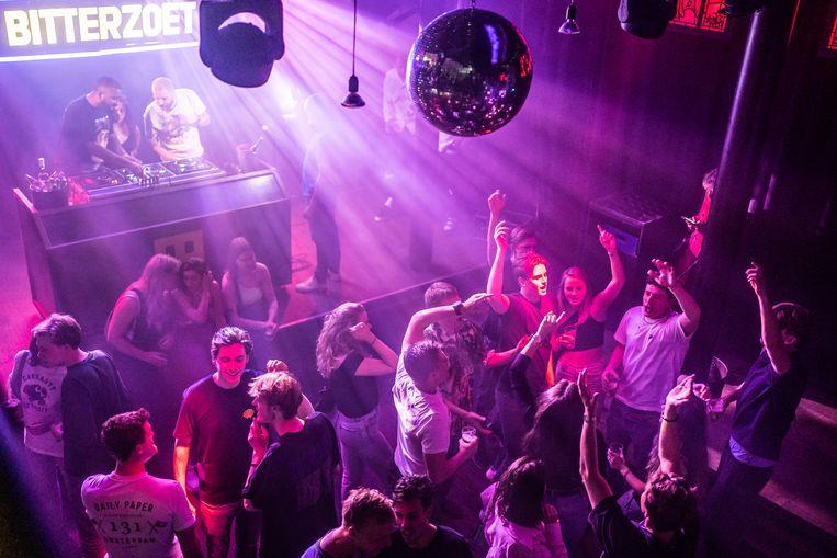 Club Bitterzoet in Amsterdam opent na anderhalf jaar weer de deuren, 26 juni.    Beeld Joris van Gennip