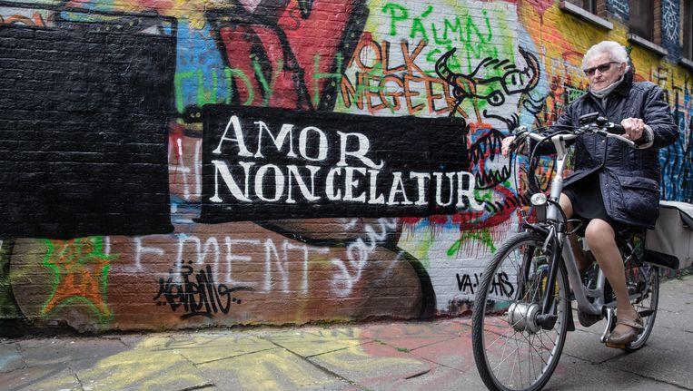 Amor non celatur: liefde kun je niet verbergen. Beeld Wouter Van Vooren/Gert Van Goethem