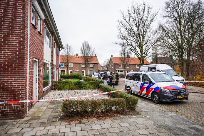 Man overvallen in een woning aan de Servaasstraat in Lieshout in de nacht van 10 op 11 december 2020.