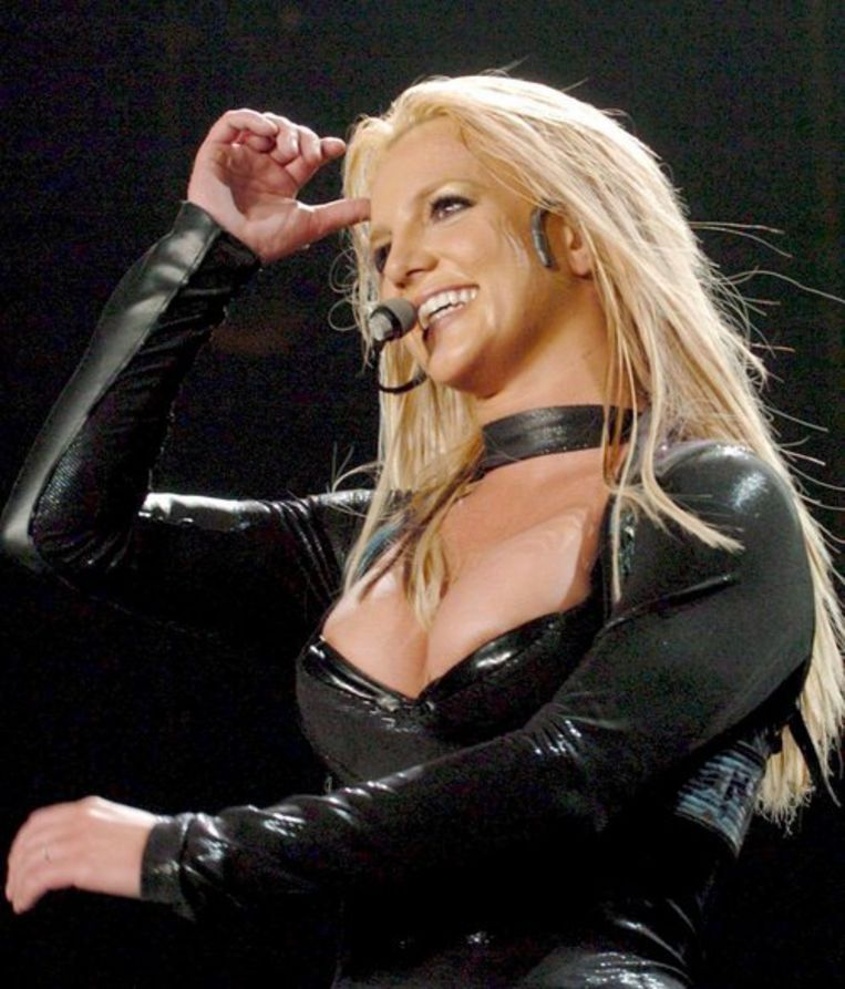 Britney live in Oberhausen, Duitsland in 2005. Foto EPA/Achim Scheidemann Beeld
