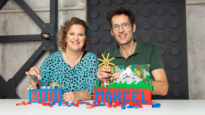 Bibi Werter en Marcel de Jong doen mee aan het tweede seizoen van LEGO Masters.