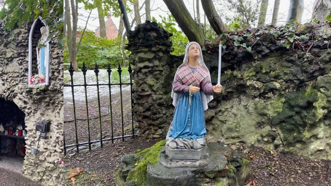 Opnieuw Bernadettebeeld in Lourdesgrot