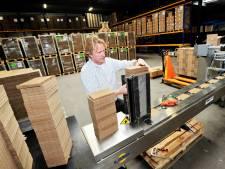 Oisterwijkse aanmaakblokjes van Fire-Up in Zweedse handen: 'Bedrijf is nu echt brandveilig'