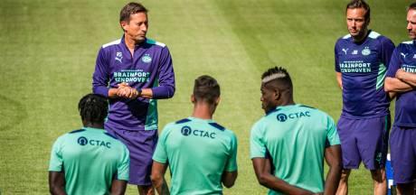 """Roger Schmidt over het duel van PSV met Galatasaray: 'We hebben alles gedaan om goed in conditie te zijn"""""""