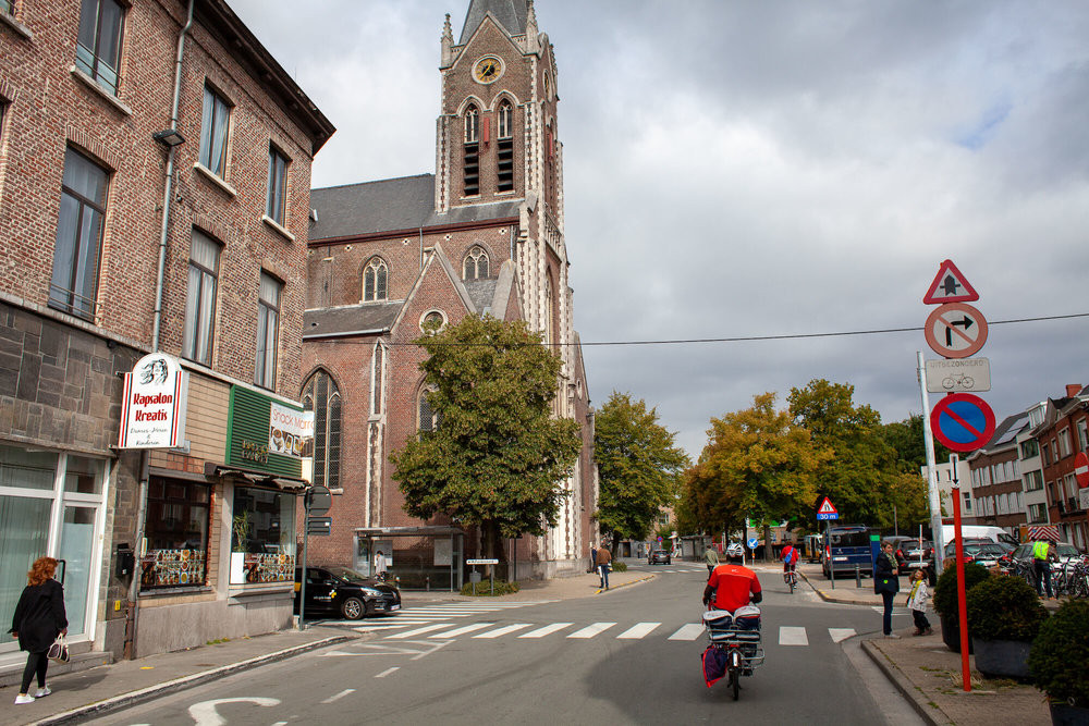 In de Belgische stad Gent werd de snelheidslimiet door automobilisten in extreme mate overschreden