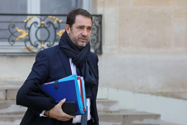 Frans minister van Binnenlandse Zaken Christophe Castaner. Beeld AFP