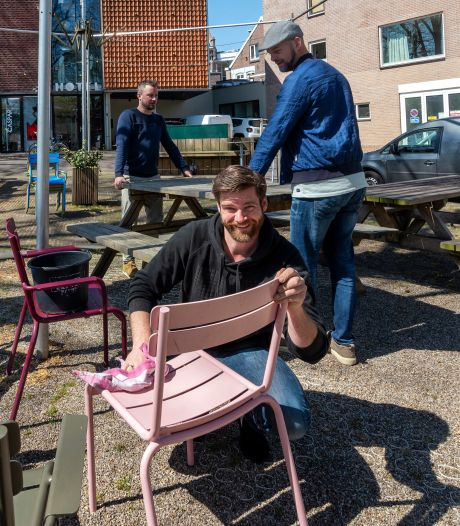 Reserveringen voor het terras stromen binnen bij de Arnhemse horeca: 'We staan te trappelen'