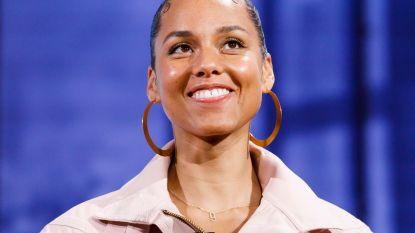 Alicia Keys treedt na zeven jaar opnieuw op in België
