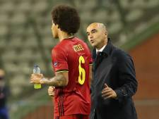 """Axel Witsel sera dans les 26"", assure Roberto Martinez"