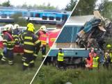 Drie doden bij frontale treinbotsing in Tsjechië