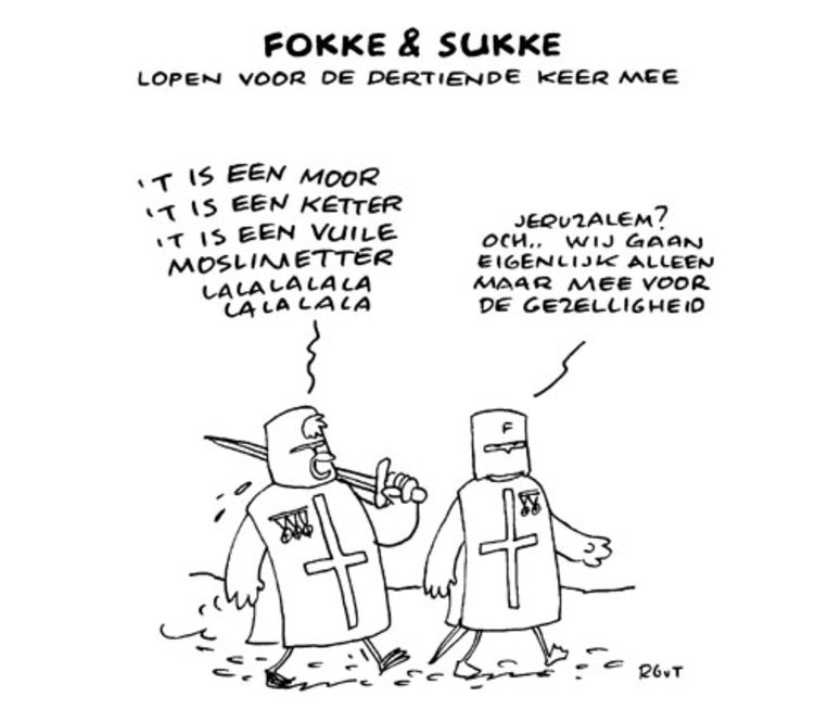 Fokke & Sukke. Beeld
