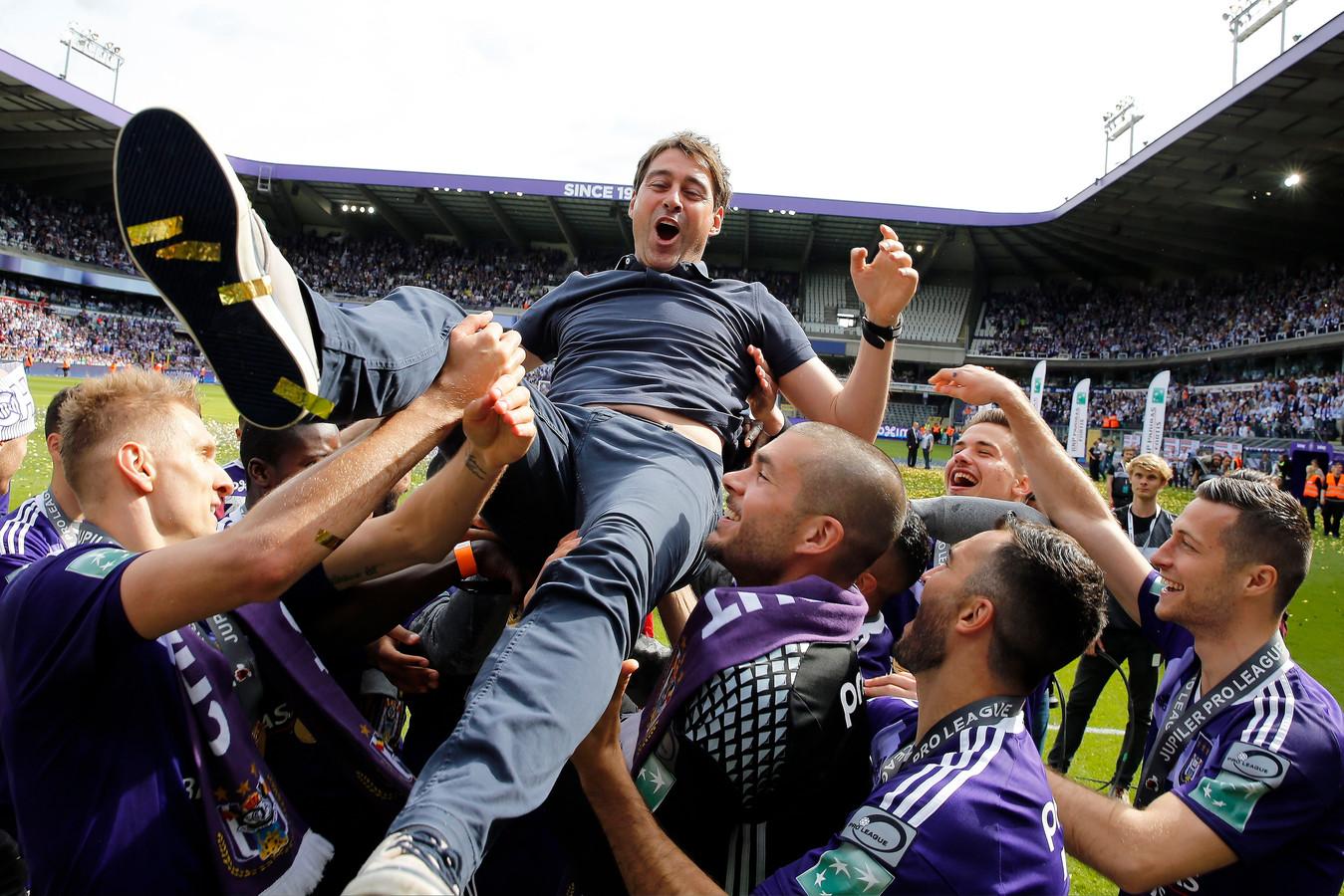 Weiler na de titel van Anderlecht.