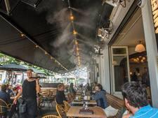 VIDEO: Anvers koelt terras op tropische dagen voortaan met koude nevel. 'Brabants primeurtje'