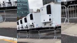 New York plaatst opnieuw koelwagens bij ziekenhuis als tijdelijk mortuarium