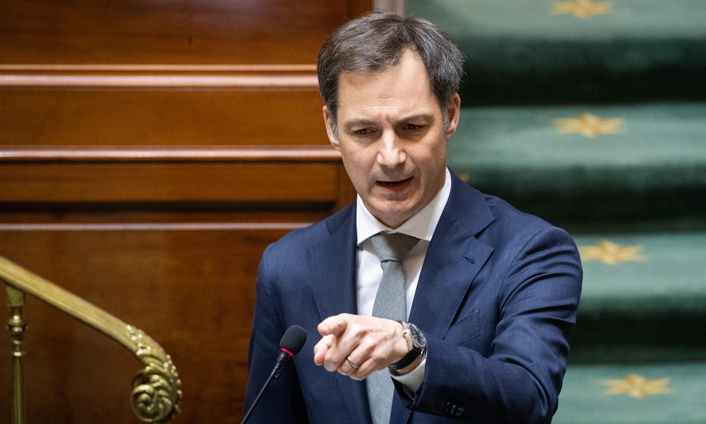 Prime Minister Alexander De Croo