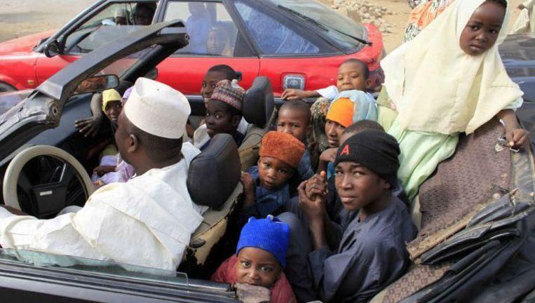 'In Europa betekent meer geld vaak minder kinderen. In sommige Afrikaanse landen zijn er zat welvarende gezinnen die juist groot zijn.' Beeld reuters