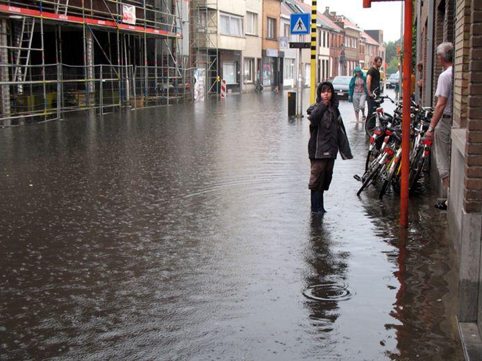 In 2014 kreeg Tereken het meermaals zwaar te verduren bij hevige regenval.