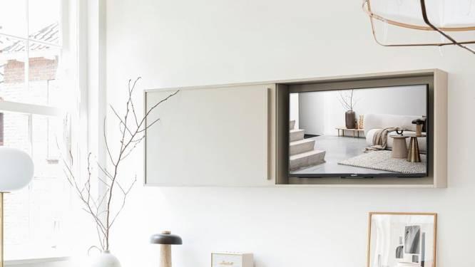 Zo gaat je televisie naadloos op in je interieur