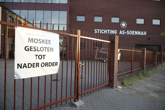 De moskee van stichting as-Soennah aan de Fruitweg.