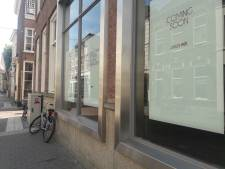 Sissy-Boy in pand Verwersstraat waar warenhuis Robbies was gevestigd