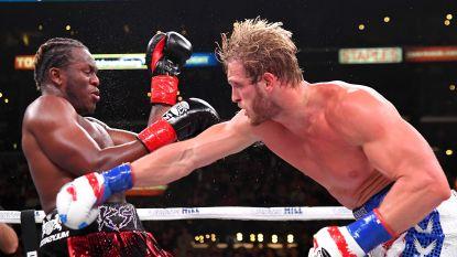 KSI verslaat Logan Paul nu wel in bokswedstrijd