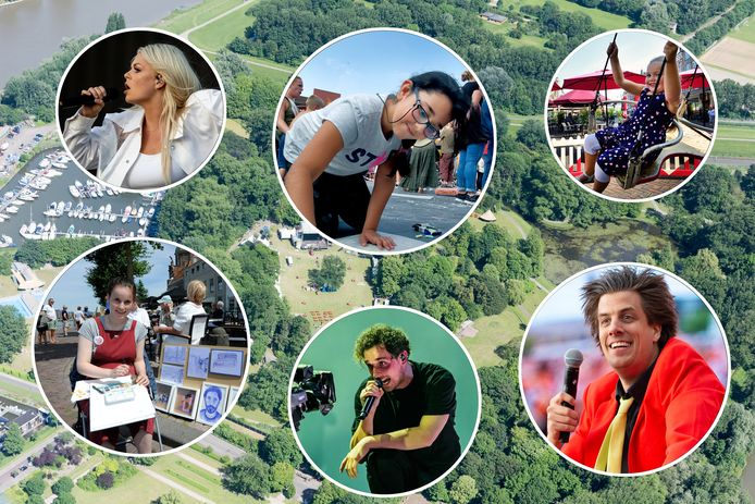 Davina Michelle, stoepkrijtfestival, kermis, kunsthoofd, Nielson, Snollebollekes.