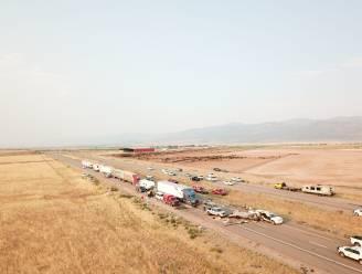 Acht doden na kettingbotsing door zandstorm in Utah