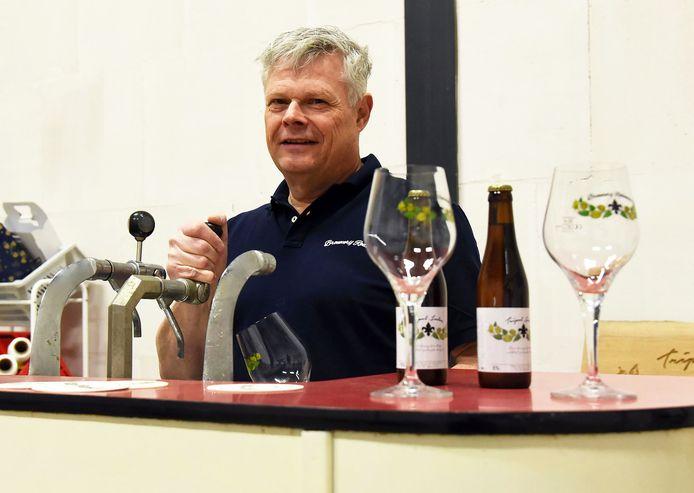Frank Schout timmert aan de weg met zijn bierbrouwerij Rodanum.