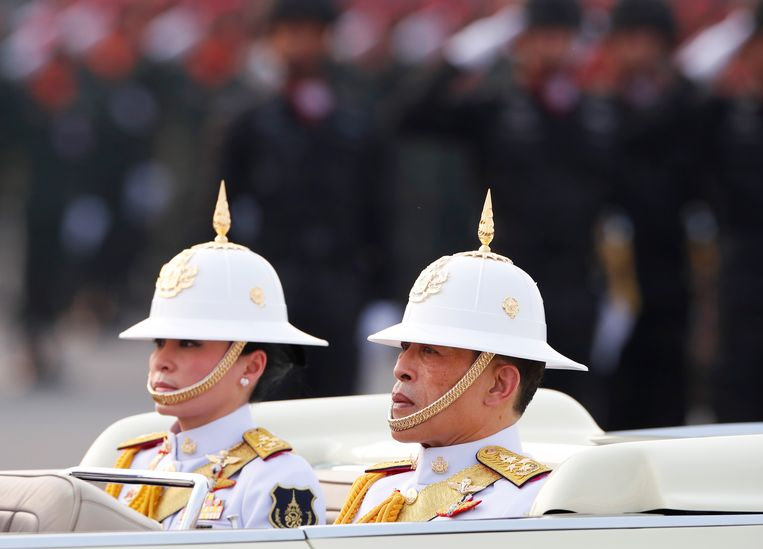 De Thaise koning Vajiralongkorn. Beeld EPA