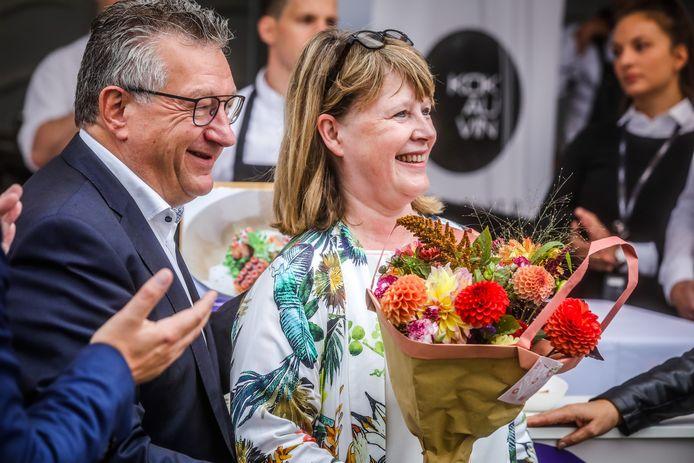 Brugge kookeet: ex schepen Hilde Decleer werd gehuldigd voor haar inzet de voorbije jaren