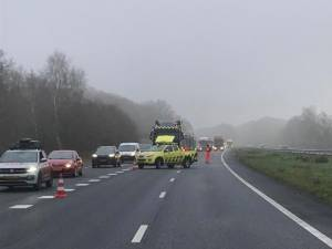 Ongelukken op A28 bij Putten en Zwolle zorgden voor fikse vertragingen, files zijn inmiddels opgelost