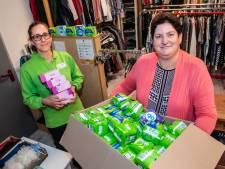 Een tweede uitgiftepunt in Gouda: ook voedselbank deelt gratis maandverband en tampons uit