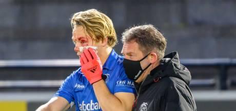 Hockeyer Jip Janssen kreeg snoeiharde bal op zijn oog, nu moet hij zittend slapen om zijn zicht te redden