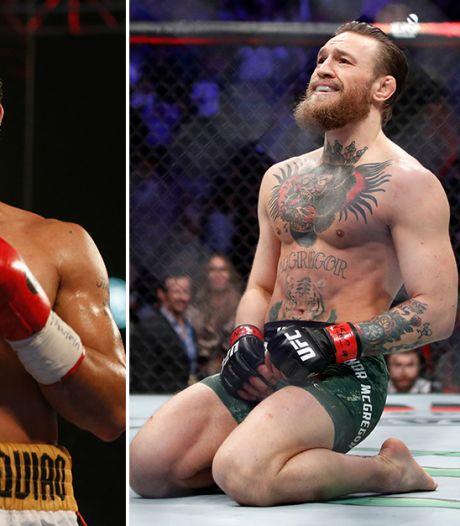 Bokslegende George Foreman adviseert McGregor: stop met MMA, ga boksen