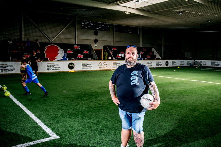 Rudy Claessens: 'Wie wil drie uur in een stadion zitten zonder iets te drinken?' Beeld Photo News