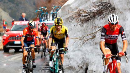 LIVE GIRO. Peloton ligt in stukken en brokken: wie wint pittige bergrit?