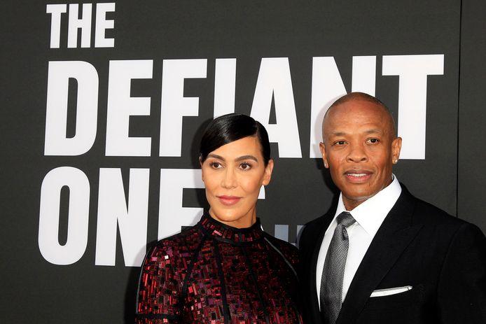 Dr. Dre en Nicole Young in betere tijden