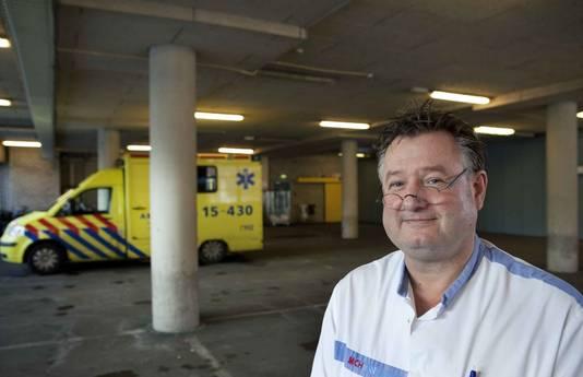 Frans de Voeght, hoofd spoedeisende hulp in MCH Westeinde.