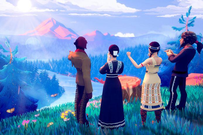 De nieuwe 'Oregon Trail' herneemt de basisgameplay van de originele game uit 1974. Maar wel met betere graphics natuurlijk.