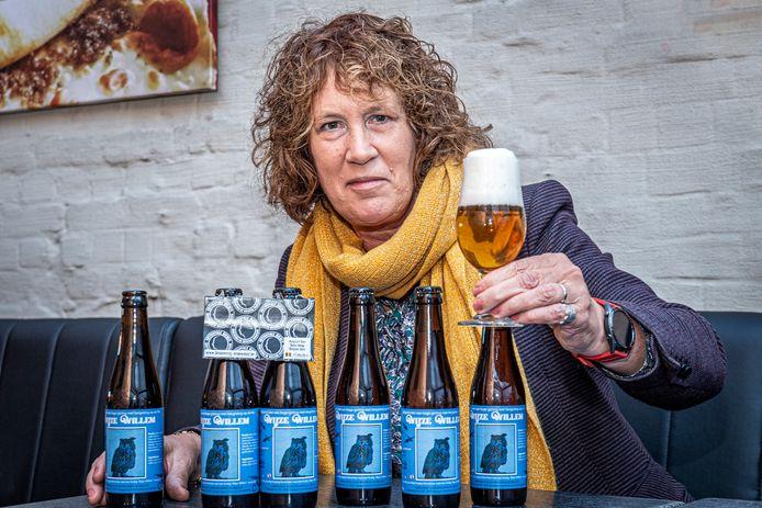 Belinda Eelbode brouwde in samenspraak met artisanale brouwerij De Meester in Stasegem Wijze Willem.