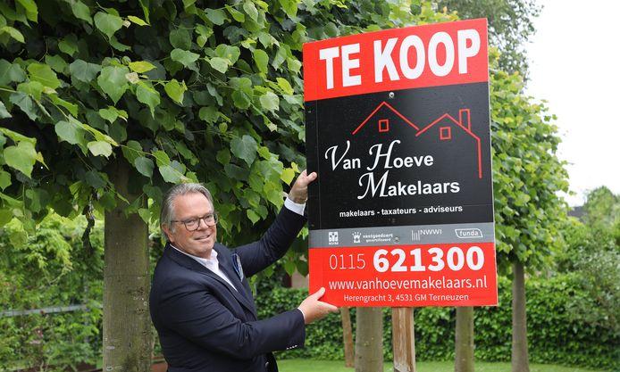 """Makelaar Hendrik van Hoeve: ,,Een woning die goed in de markt ligt met weinig werk eraan, verkoop je à la minute."""""""