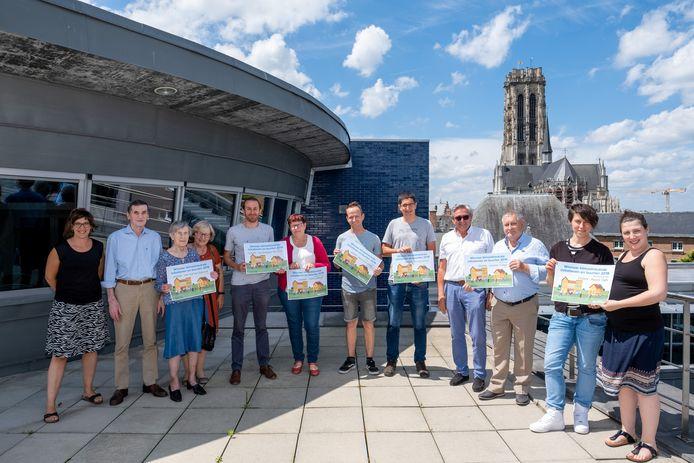 Enkele winnaars van subsidies voor klimaatneutrale initiatieven en buurten.