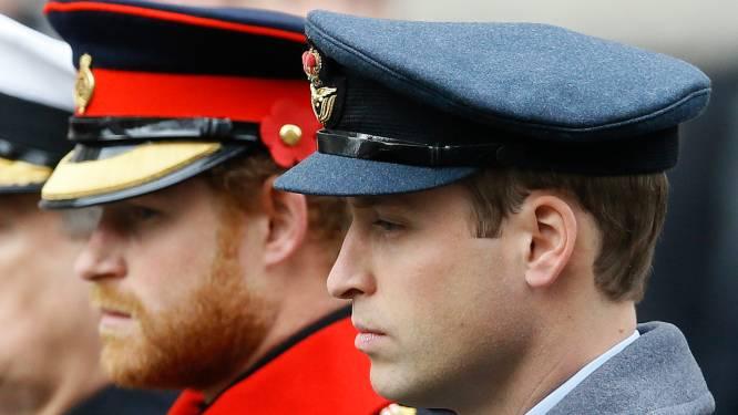 Harry en William zullen niet naast elkaar lopen tijdens begrafenis van prins Philip