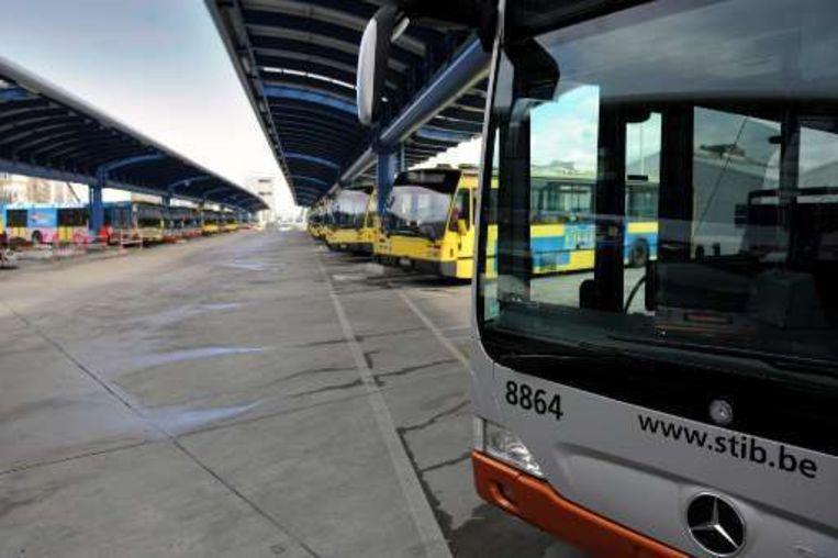Gisteren deden zich twee incidenten op MIVB-bussen voor.