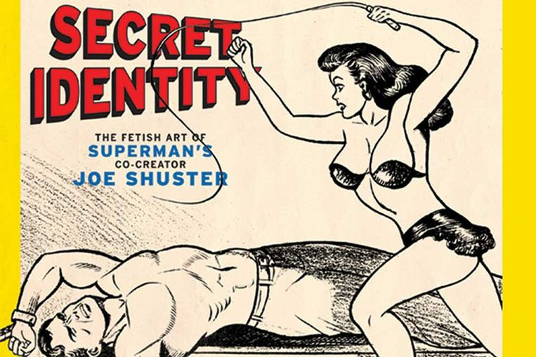 Niet alleen Superman heeft een geheim. In april van dit jaar verscheen een boek over het geheime leven van Superman-bedenker Joe Shuster. Hij bleek erotische tekeningen te hebben gemaakt naast zijn betaalde baan als striptekenaar. Beeld null