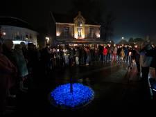 Levenslicht markeert tijdelijk Holocaustmonument in 's-Heerenberg