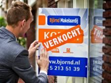 Helft van de woningen werd in 2020 boven vraagprijs verkocht